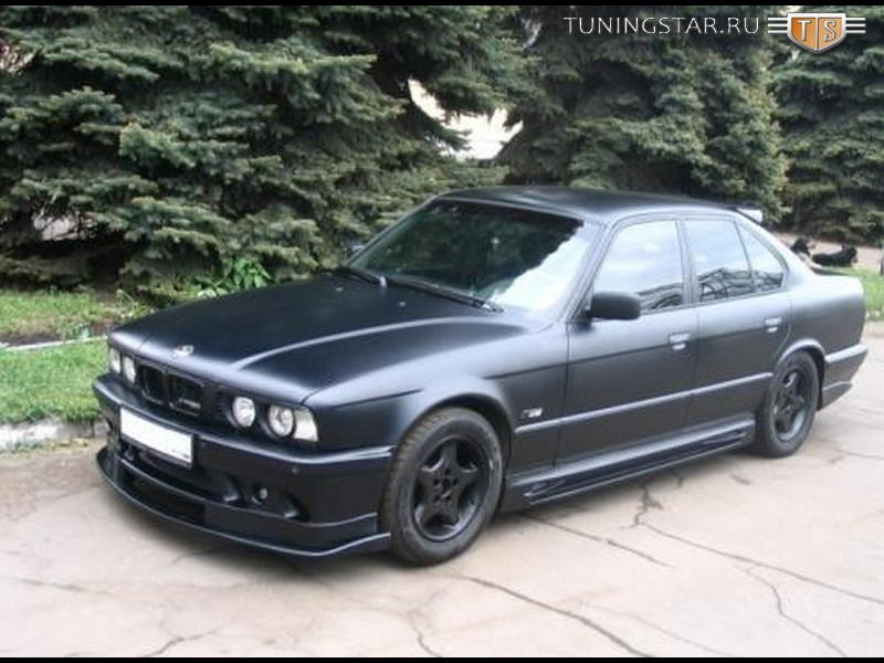 Пороги Hamann Competition для BMW E34