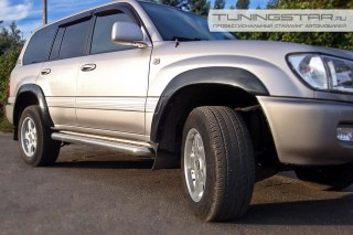 Расширители колесных арок для Toyota Land Cruiser 100 c 1998 по 2007г.