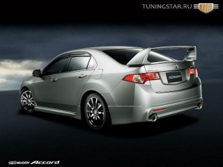 Пороги Mugen-Style для Honda Accord с 2003 по 2007г.