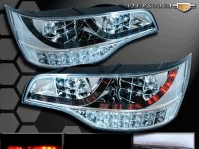 Audi q7 06 прозрачный rs-06670 new светодиодные, красный